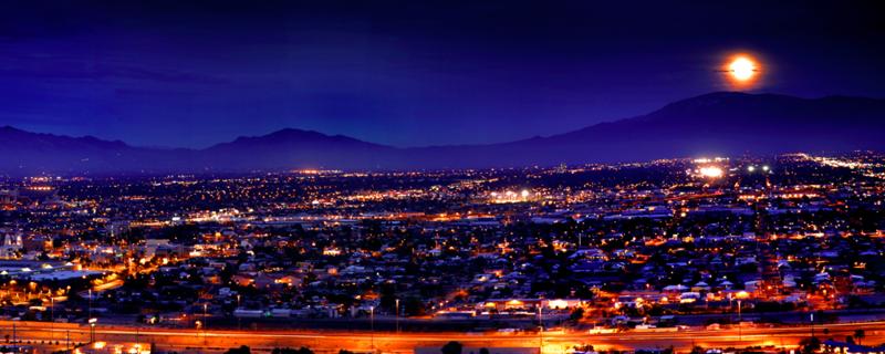 T skyline Night