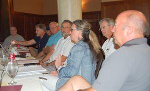Board Meeting Sioux Falls Phyllis talking web