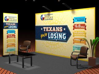 Texas Sample Trade Show Booth