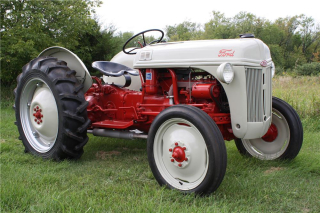 Ford 8 N Tractor Restored