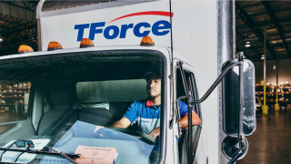 Tforce Truck and Logo