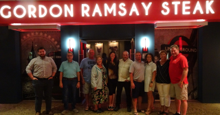 NTPDA 2022 Harrahs Board Gordon Ramsay Steak